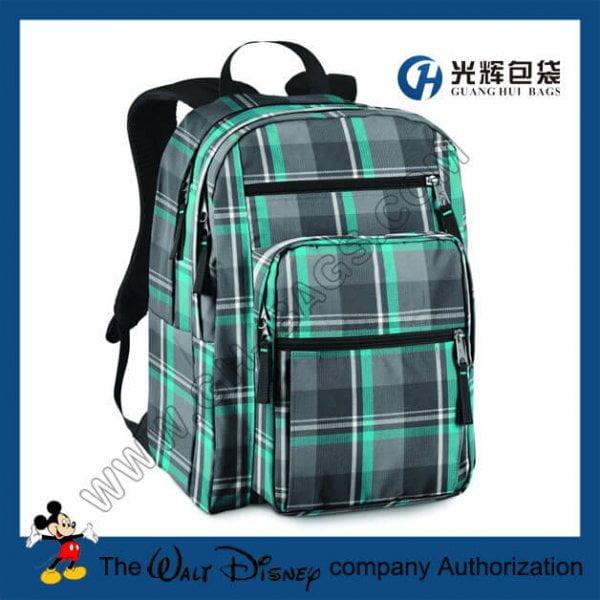 Plaid Big Student Backpacks