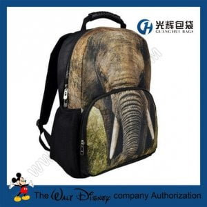 3D elephant Animal Backpack College School Backpack bags