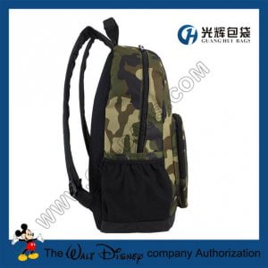 Water Resistant Army Camo backpacks