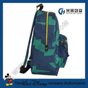 Resin teeth zipper waterproof backpacks