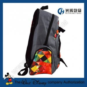 Teenagers skateboard backpacks