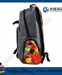 Teenagers skateboard backpacks