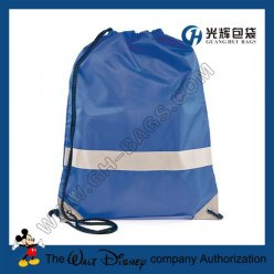 210T Drawstring Bags With reflective tape