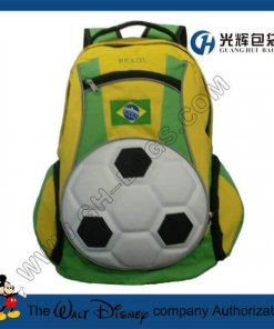 3D EVA football backpacks