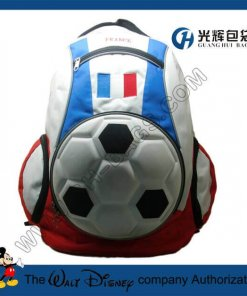 3D EVA france football backpack bags