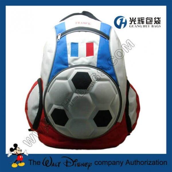 3D EVA france football backpack bags