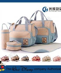 5pcs set microfiber cloth baby diaper nappy bag