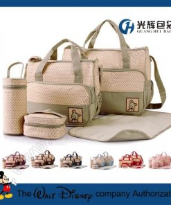 5pcs set microfiber cloth diaper baby bag for mother