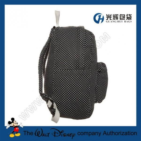 All dot compact backpack bags for student