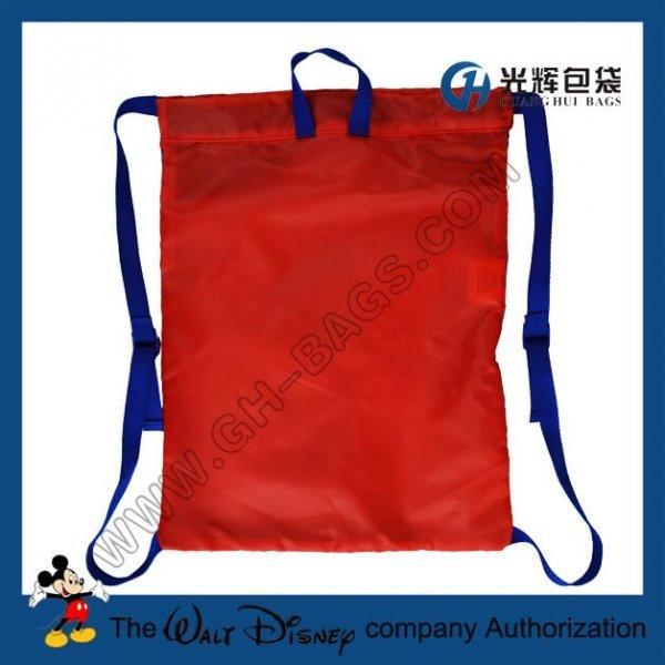 Cartoon drawstring backpacks for children