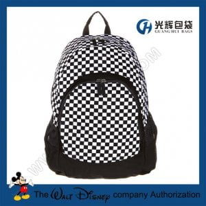 Plaid laptop backpacks from china