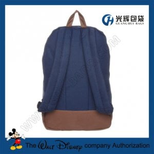 Plain color jansport backpacks with leather patch