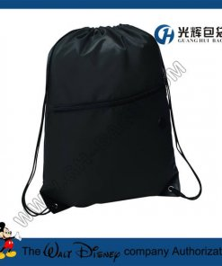 Promotional Drawstring Bags With zipper pockets