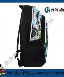 Sliver zipper 3D animal print backpacks