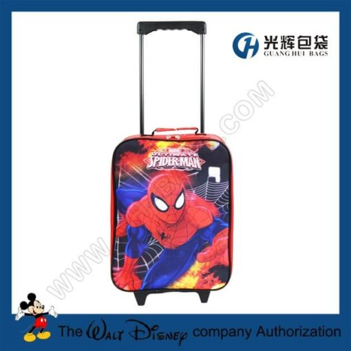 Spide man luggage for children