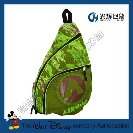 Camouflage backpacks with one strap
