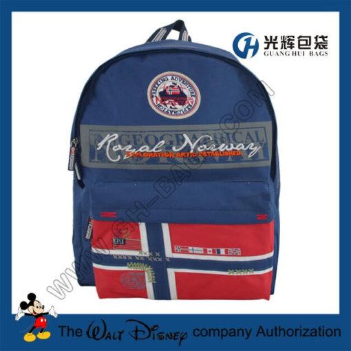 Fashion flag rucksacks