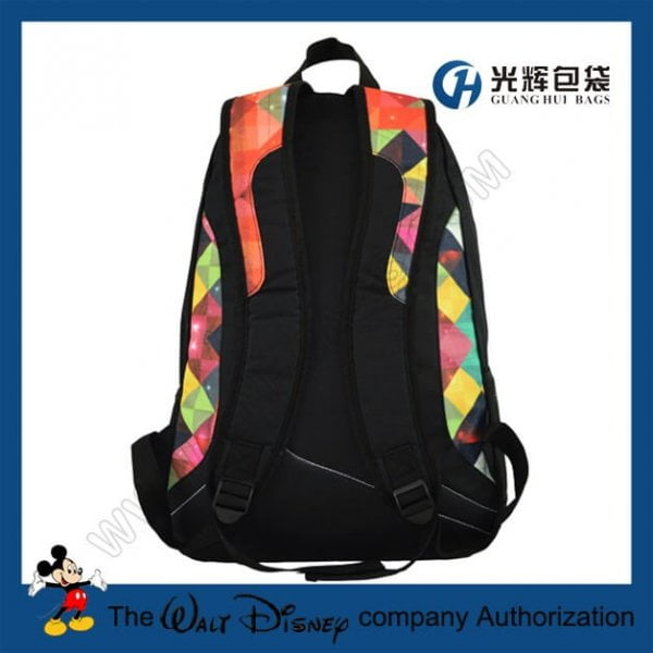 Fashionable skateboard carry buckle straps backpacks