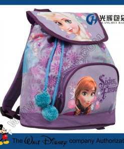 Frozen Drawstring Backpacks Factory