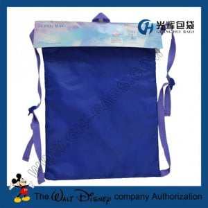 Frozen drawstring backpacks for girls