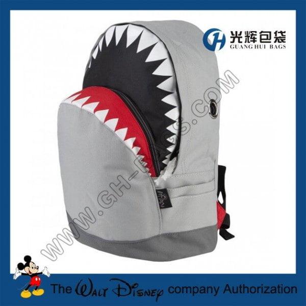 Polyester animal backpack Shark Backpacks