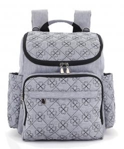 Diaper Bag Backpack With Baby Stroller Holder