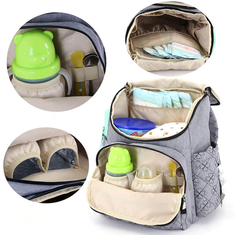 Diaper Bag Backpack With Baby Stroller