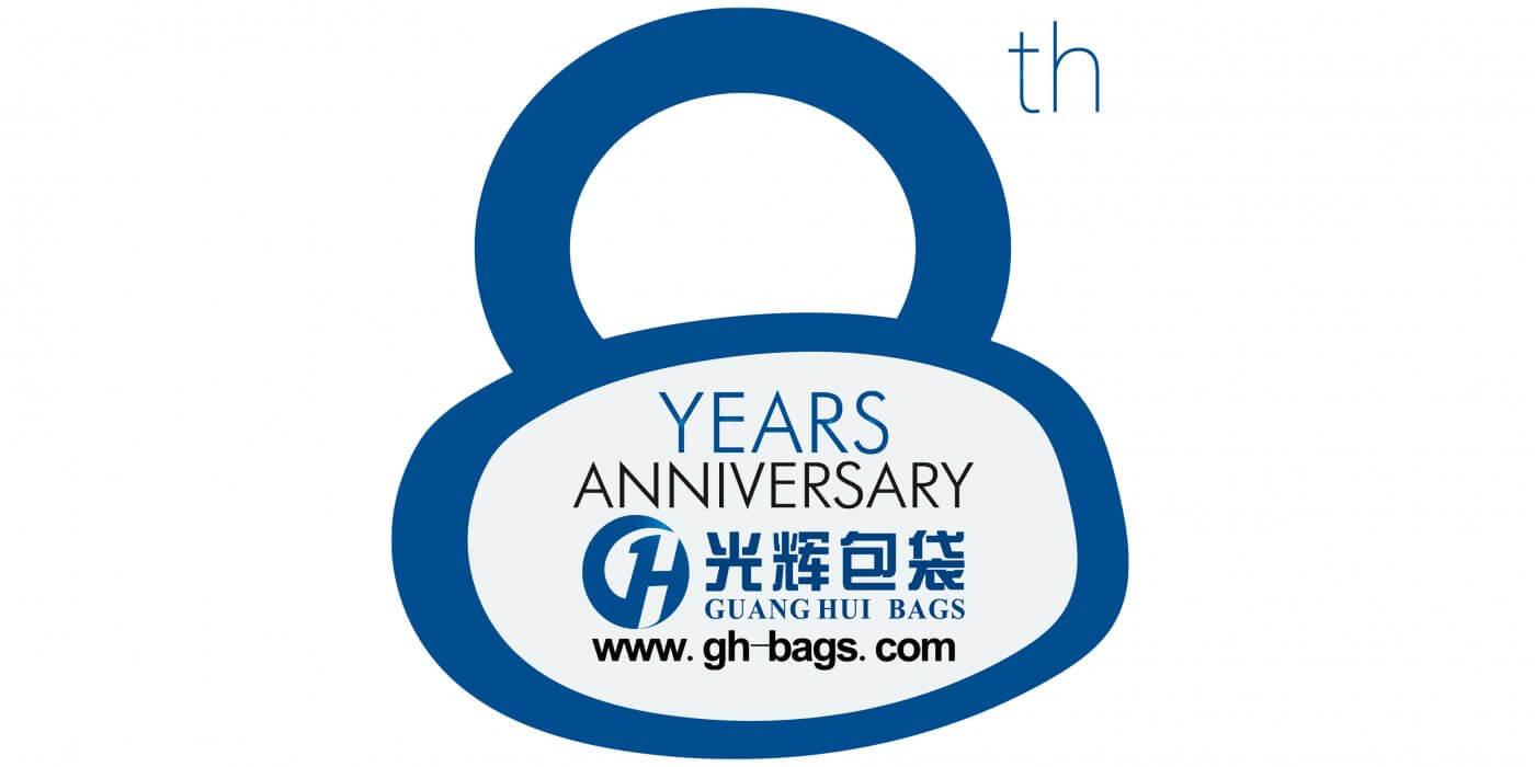 Quanzhou Guanghui Bags Co., Ltd 8years Anniversary