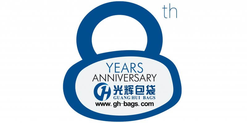Quanzhou Guanghui Bags Co., Ltd 8years Anniversary
