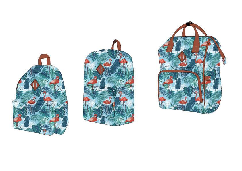FLAMINGOS BAGS DESIGN from China Bags Manufacturers China Fujian Backpacks Factory