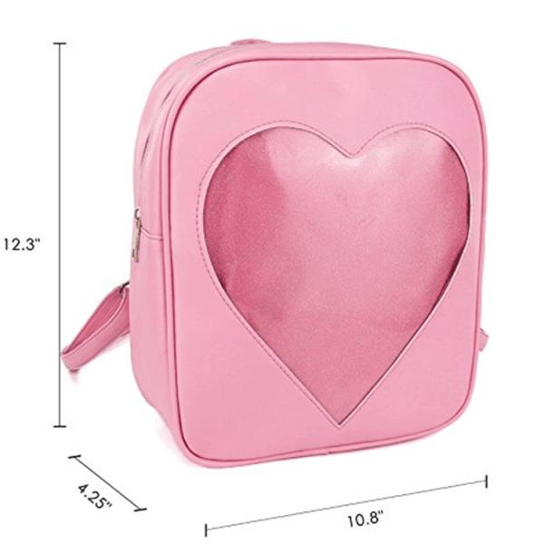 Clear candy bag packs transparent windows backpacks2