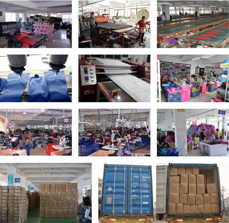 Customized Tote Neoprene Beach Bags Producing Process